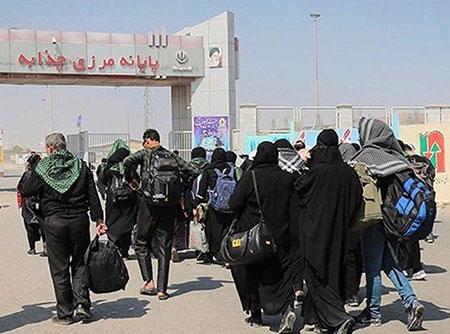 زائران ایرانی در سفر زیارت عتبات