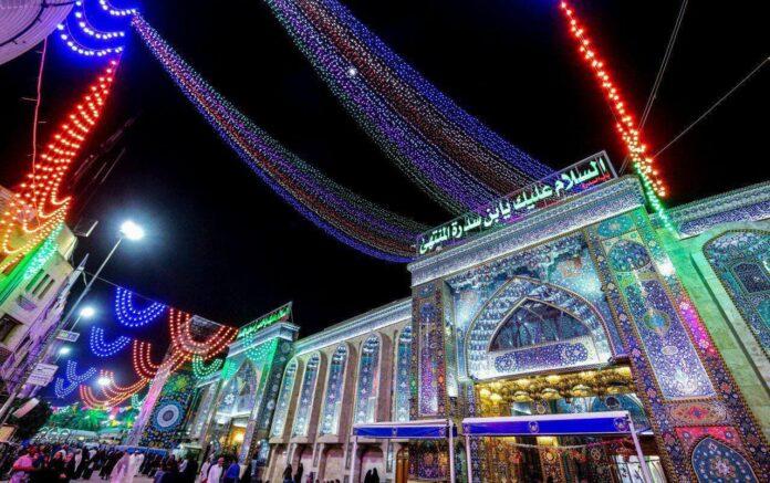 حرم مطهر امام حسین علیه السلام- خیابان سدره
