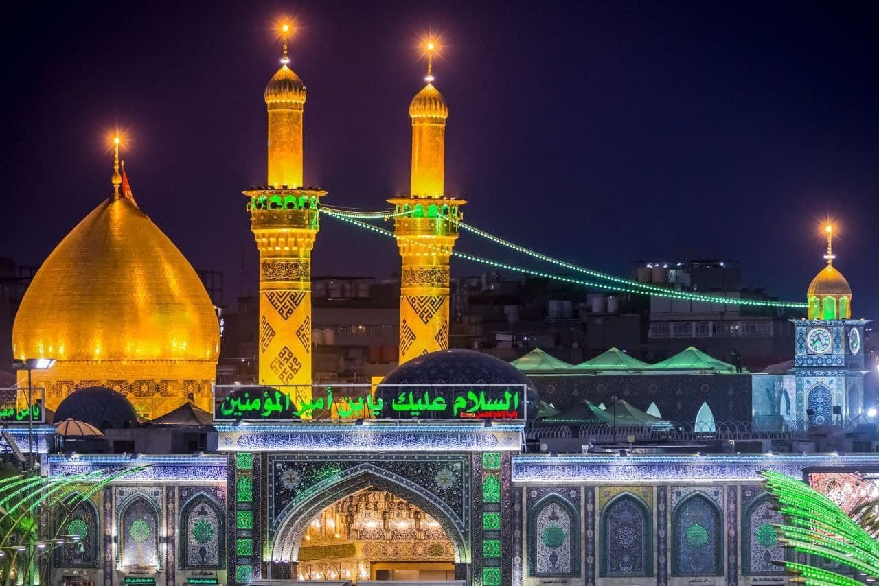 تصاویر زیبا از حزم مطهر حضرا عباس علیه السلام